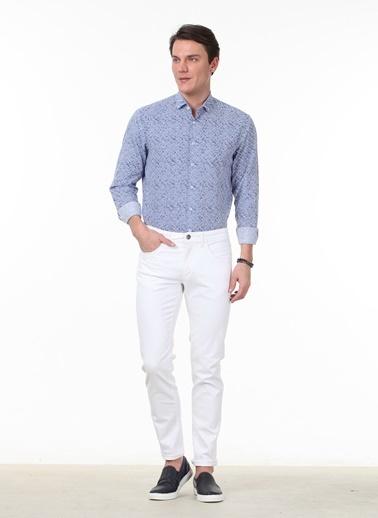 Kip Pantolon Beyaz